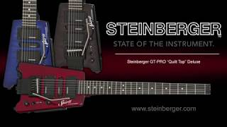 "The Steinberger GT-PRO ""Quilt Top"" Deluxe Outfit"