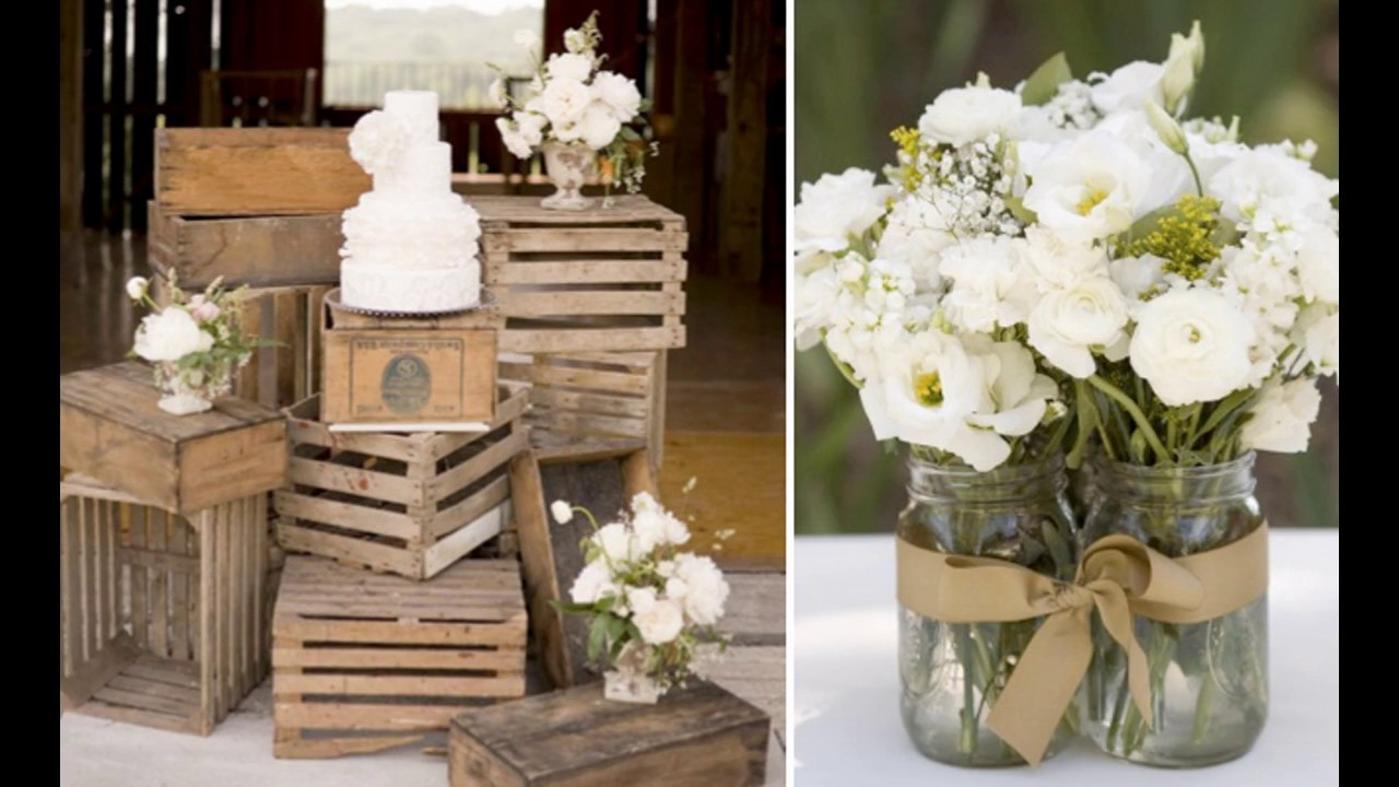 Ideas de decoraci n de boda vintage youtube for Decoracion vintage boda