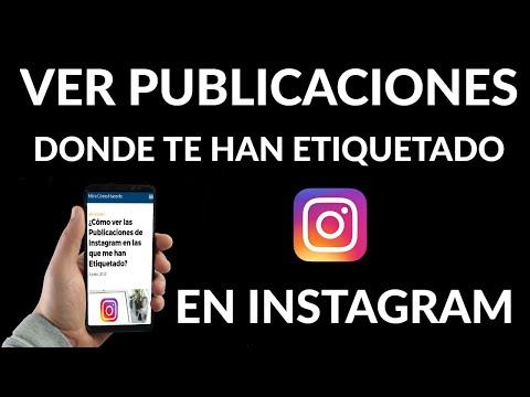 Cómo ver las Publicaciones de Instagram en las que me han Etiquetado