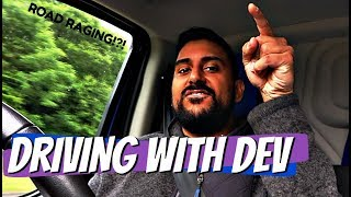 ROAD RAGE!?! | Driving With Dev | DevTV