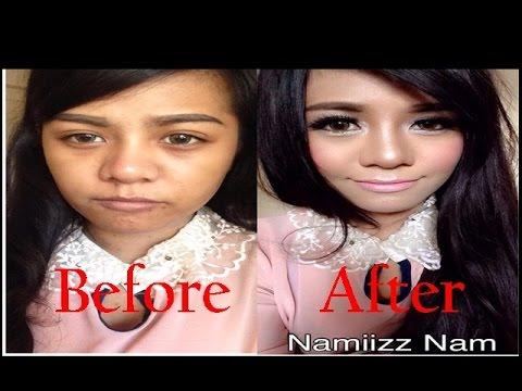 How to การแต่งหน้าหวานๆแบ๊วๆสำหรับสาวผิวเข้ม By Namiizz Nam