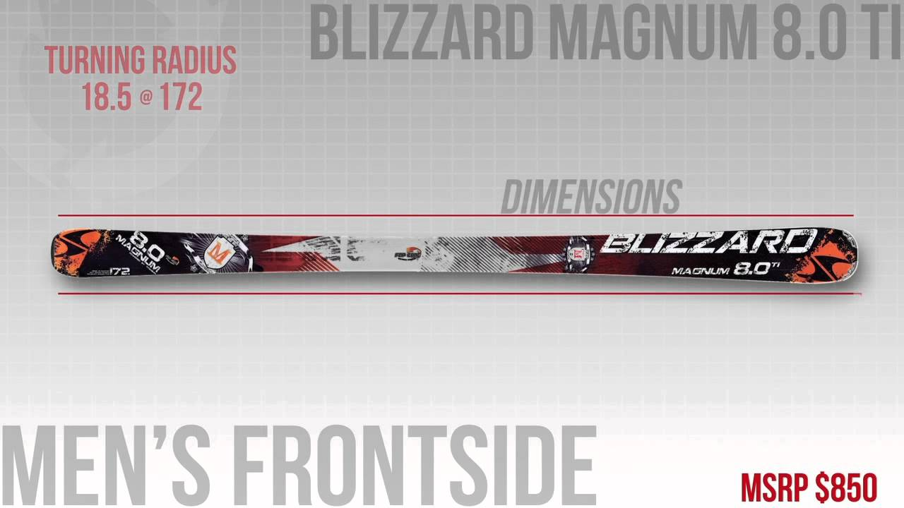 2013 Blizzard 8.0 Ti Ski Review - OnTheSnow Frontside Editors' Choice