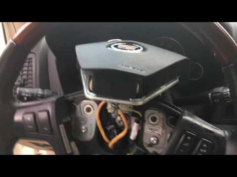 How To Replace Cadillac SRX Steering Wheel Switch Plate (DIY)
