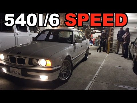 BMW E34 540I 6 SPEED FOR A STEAL !!!!!!