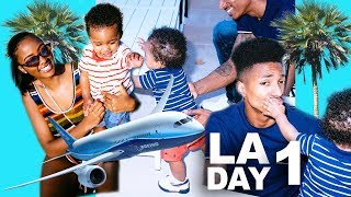 Vacation Vlog | We took a trip to LA | B.E.T Weekend
