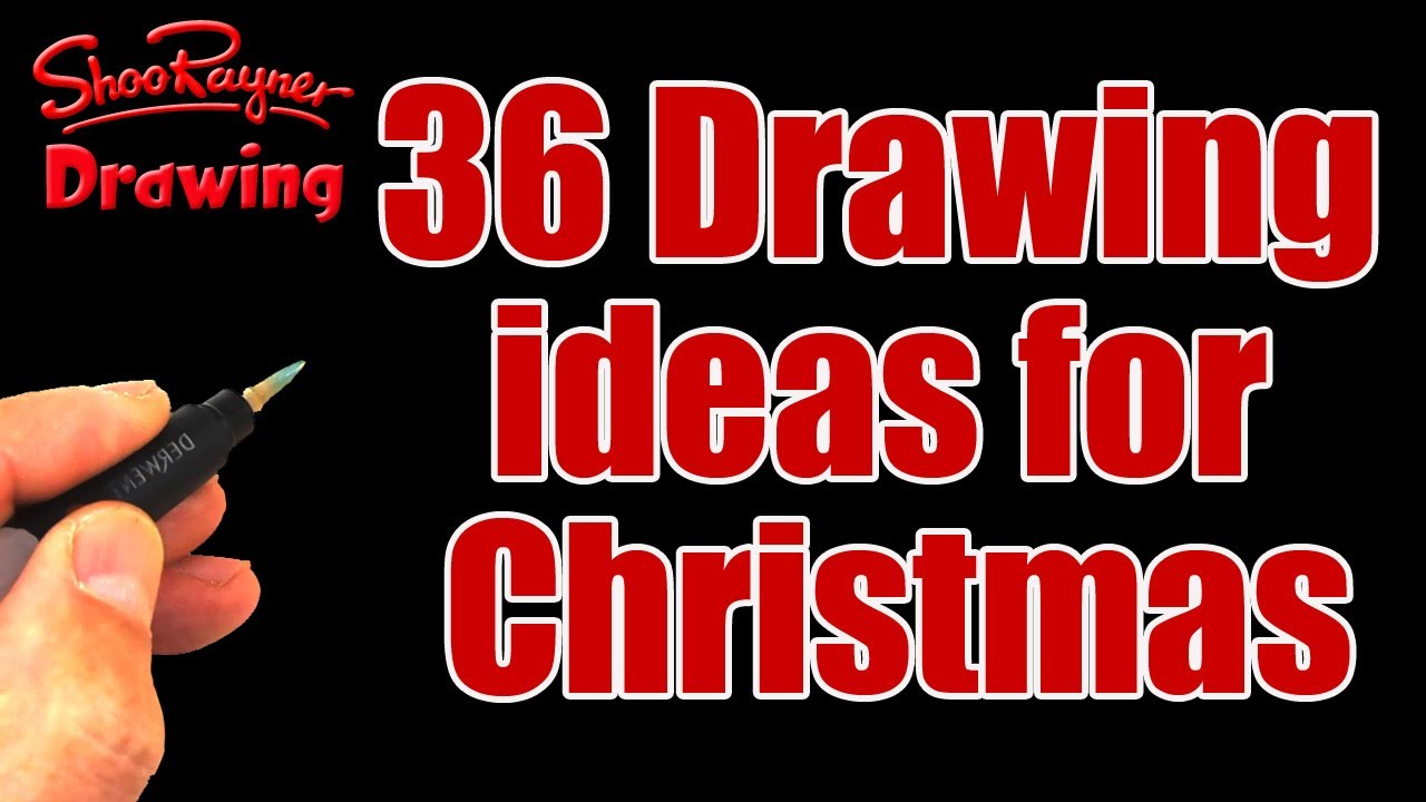 Christmas Card Making Ideas Youtube Part - 30: 36 Drawing Ideas For Christmas