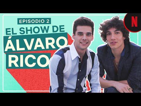 Álvaro Rico devela los secretos del cast de Élite
