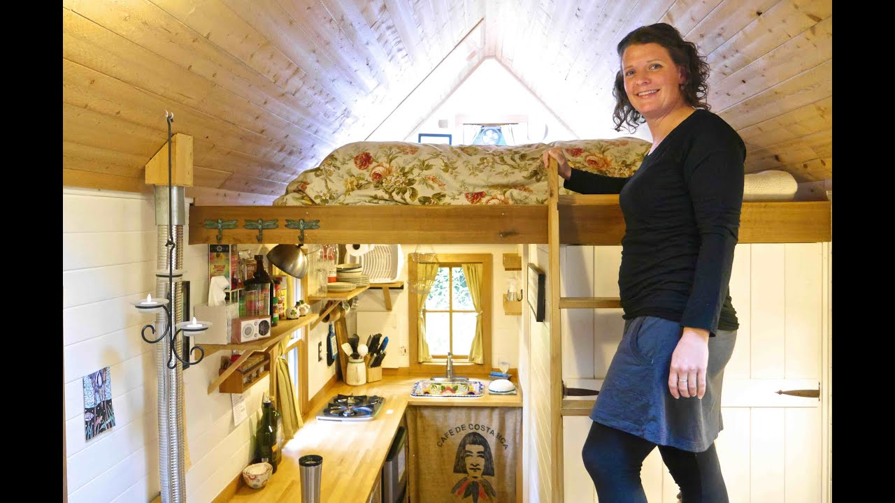 Brittany Yunker S Gorgeous Tiny House In Olympia Wa Full