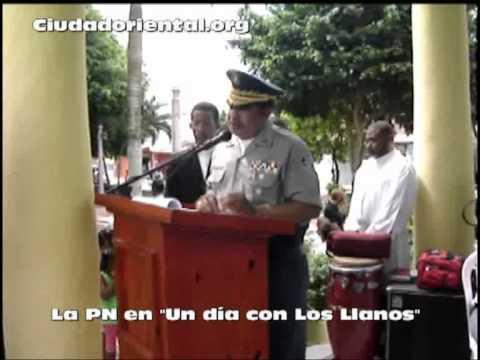 La Policía en Los Llanos de San Pedro de Macorís