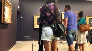 """Video Watching others watch """"L'Origine du monde"""" (The Origin of the World by Gustave Courbet) download MP3, 3GP, MP4, WEBM, AVI, FLV November 2017"""