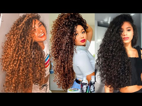 curly-hair-tutorial-compilation---2020-hairstyles