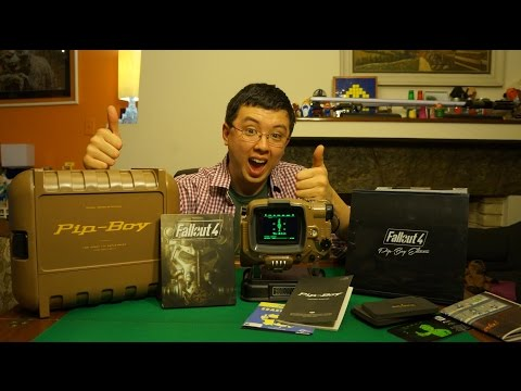 Unboxing Fallout 4 Pip-Boy Edition  (PS4, PC, XOne)