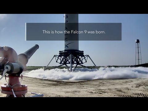 The Story of SpaceX's Falcon 9 Rocket