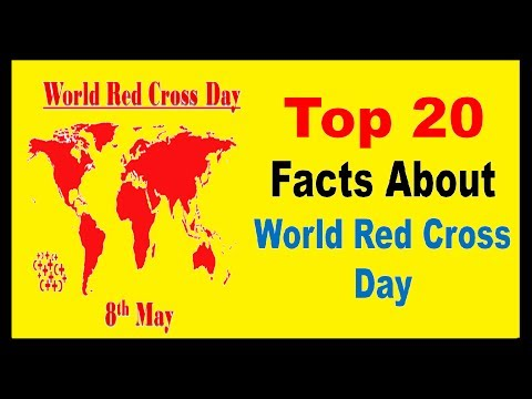 World Red Cross Day - Facts