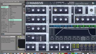How to make a Showtek & KDrew House & Hard Drop in Massive