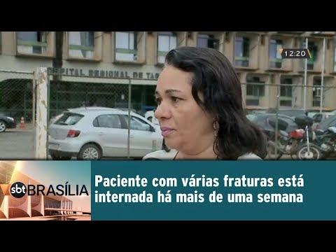 Paciente internada em estado grave precisa de cirurgias