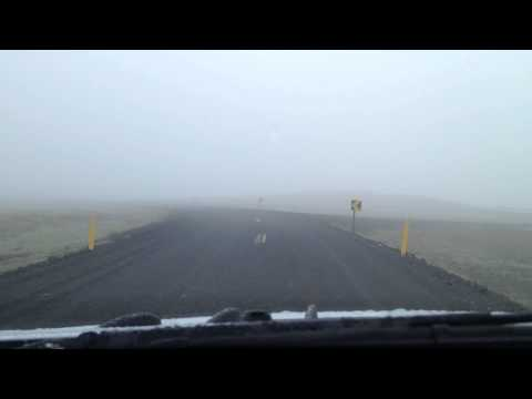 Iceland: Driving along Route 435