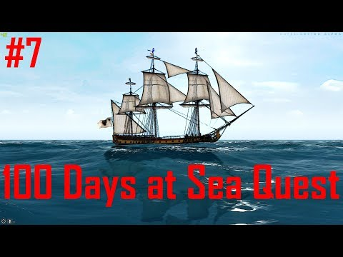Naval Action: 100 Days at Sea Quest (Route to Placentia)