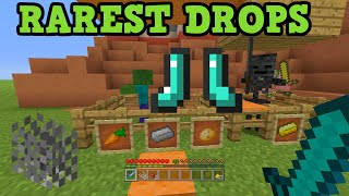Minecraft Xbox 360 + PS3: Rare Drops - What Is The Rarest Drop?
