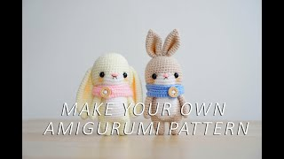 Make Your Own Amigurumi Pattern