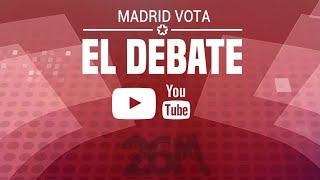 #ElDebateTelemadrid: Debate de los candidatos a la alcaldía...