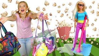 Смешные видео онлайн с Барби - Подруги живут вместе! Игры Барби для девочек