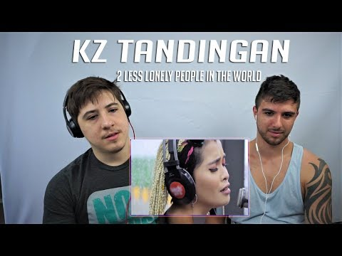 """KZ TANDINGAN """"2 Less lonely people in the world"""" Cover REACTION!!!"""