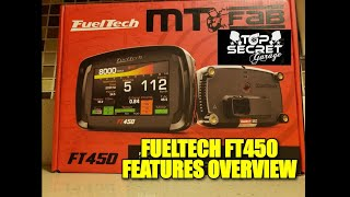 FUELTECH FT450 OVERVIEW