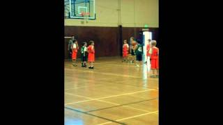 Clips of Joey's basketball game. #44