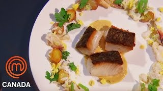 Mastering The Perfect Pan-Seared Black Cod | MasterChef Canada | MasterChef World