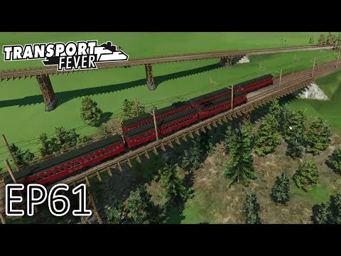 Transport Fever Gameplay | First Pennsylvania Electric Line! | The Great Lakes | S2 - Episode 61