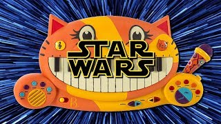 EPIC STAR WARS MEDLEY ON CAT PIANO