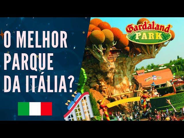 GARDALAND é a DISNEY da Itália! #VLOG 🇮🇹🎡