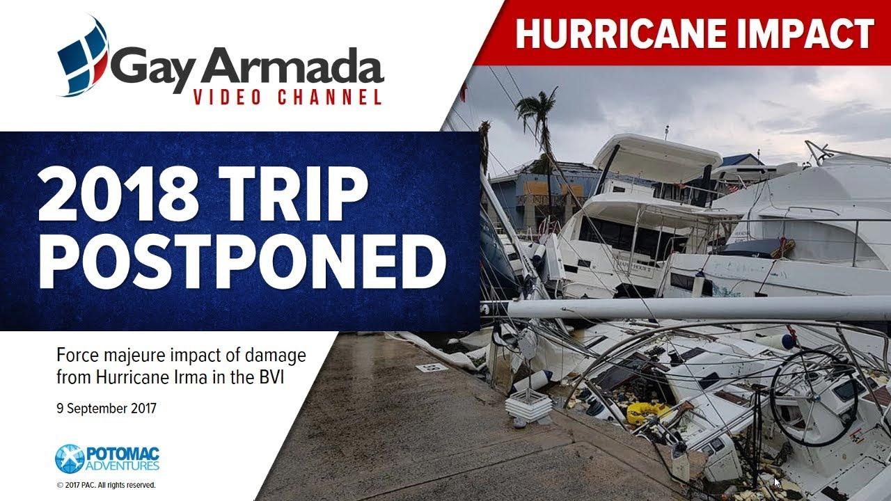 2018 trip postponed after hurricane