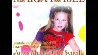 Maria Isabel - Antes Muerta Que Sencilla (Zomba Remix)