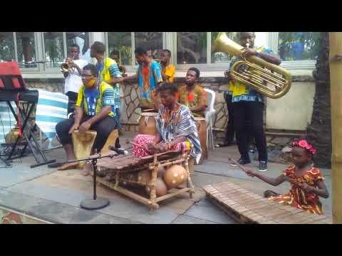 Akosua Balafon performance