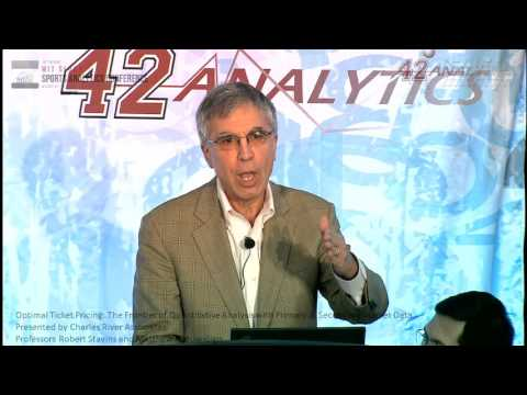 SSAC16: Optimal Ticket Pricing: Quantitative Analysis with Primary & Secondary Market Data