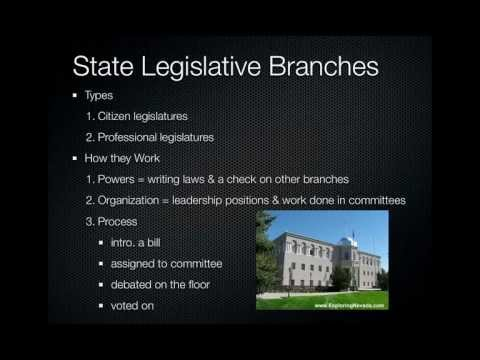 16.2 State Governments