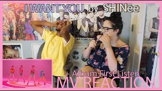 I WANT YOU by SHINee | MV REACTION + ALBUM FIRST LISTEN | KPJAW