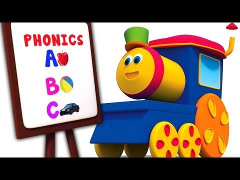 รถไฟบ๊อบ | เพลง Phonics กับบ๊อบสำหรับเด็ก | เรียนรู้เพลง ABC