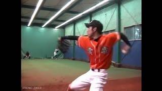 森のスライダー (MAX148キロ剛速球左腕/甲子園経験者) breaking ball 草野球 清水友人 検索動画 24