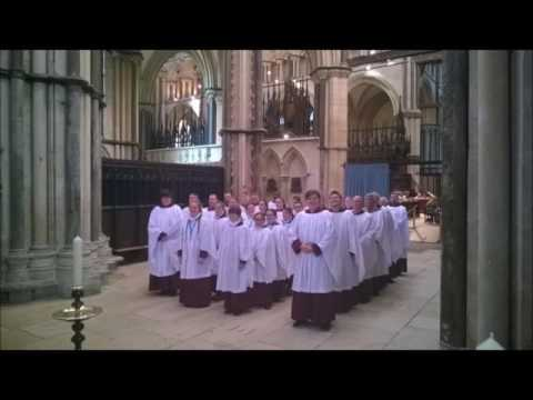 Choral Evensong - Lincoln Cathedral - 15 August 2016