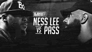 Repeat youtube video KOTD - Rap Battle - Ness Lee vs Pass | #BO7