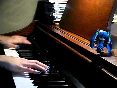 Miku Hatsune [初音ミク] - Game Of Life (piano Cover)