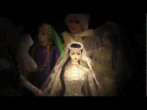 Куклы в кавказских национальных костюмах
