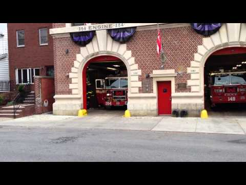 FDNY ENGINE 284 RESPONDING FROM IT'S...