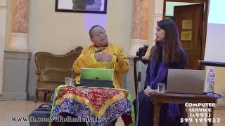Что такое мантра, карма и медитация. Буддистский Лама Йонтен Гиалтсо читает лекцию в Тбилиси