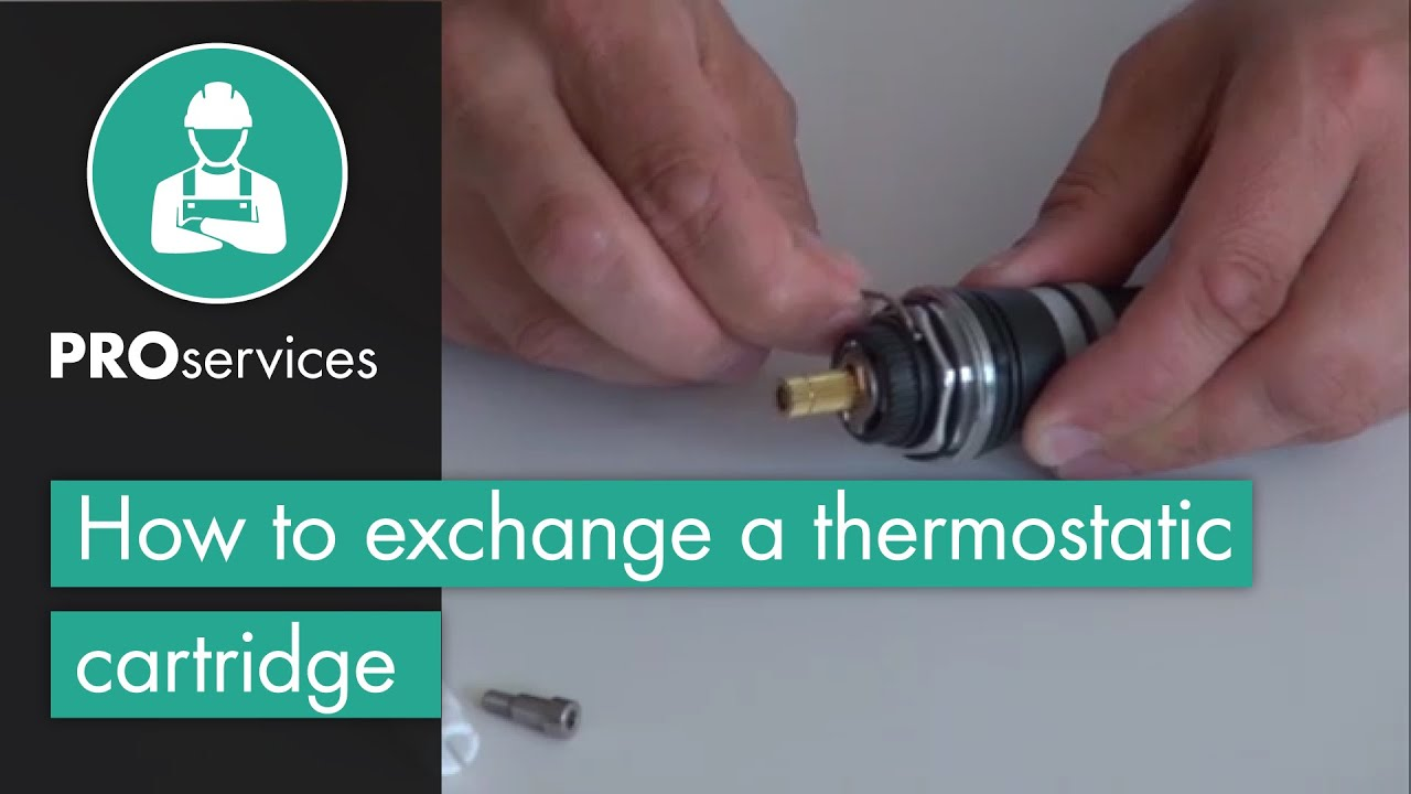 hansgrohe Technical Tip  Exchange of a Thermostatic Cartridge - YouTube 2c61783fd05f7