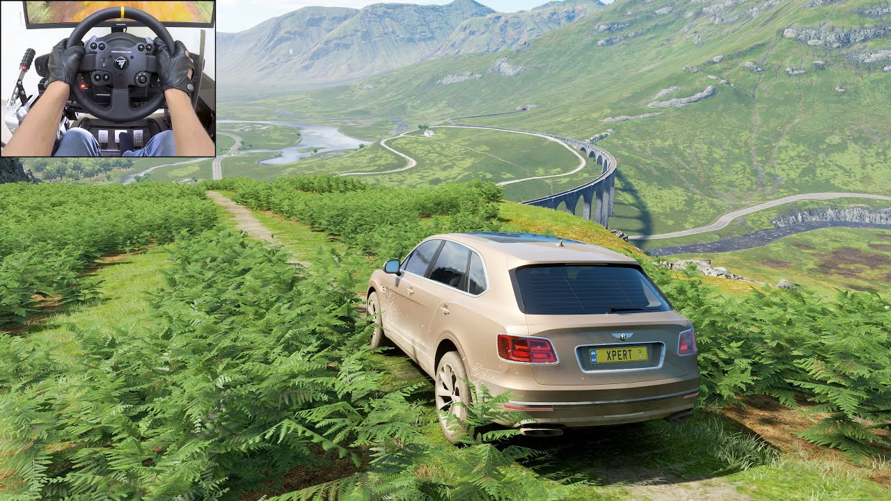 Bentley Bentayga | Realistic offroading - Forza Horizon 4 | Thrustmaster TX gameplay
