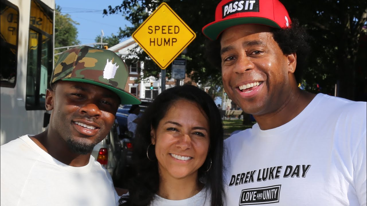 Black Man And Latina Wife Shows Unity For His Community